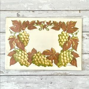 Fall Thanksgiving Paper Placemats 18 Pack Holiday